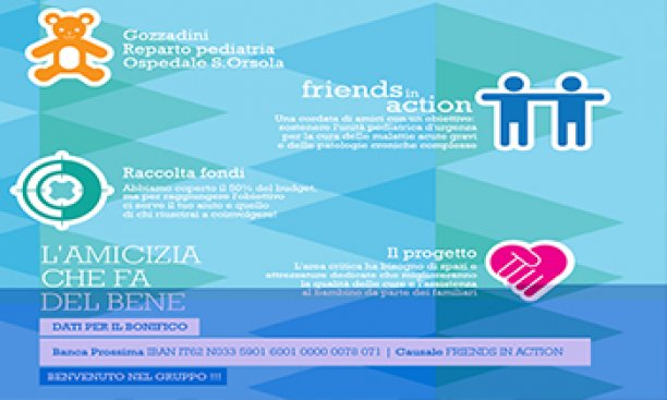 Friends in actions per Pollicino
